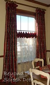 Window Treatments For Dining Room Dining Room Window Treatments Beyond The Screen Door