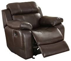 Leather Reclining Chairs Wonderful Brown Leather Chair Recliner Best 25 Brown Leather