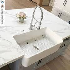 blanco ikon apron sink blanco ikon 30 apron front white composite granite kitchen reno