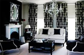 Black And White Decorating Ideas  Room Decorating Ideas - Black and white living room decor