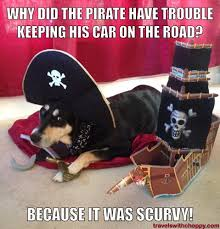 You Are A Pirate Meme - meme monday pirate jokes travels with choppy