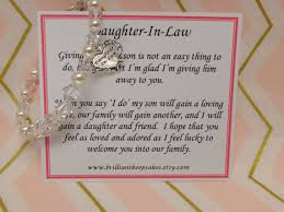 wedding gift keepsakes future in wedding gift bracelet welcome to the family