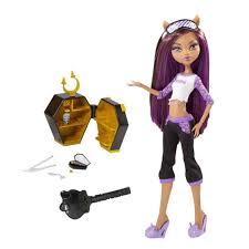 monster high clawdeen wolf halloween costume monster high dead tired clawdeen wolf doll and her bed playset