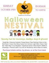 halloween nestival nest philly