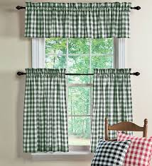 Checkered Kitchen Curtains Colorful Curtains Black And White Checkered Kitchen Curtains