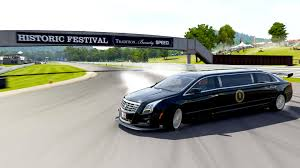 best limos in the world watch the president u0027s limo do insane backwards drifting on forza