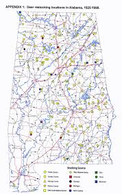 Morgan State University Map by Deer Rutting Activity Runs Gamut In Alabama Outdoor Alabama