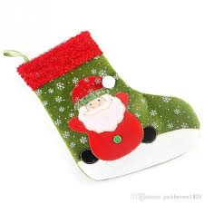 socks santa present fireplace