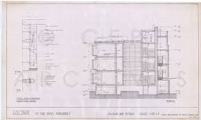pondicherry golconde dormitory india plans sections