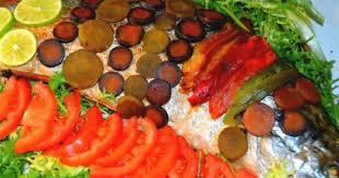 comment cuisiner un saumon entier saumon entier au four recette par tastygourmandise