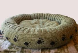 Cat Bed Pattern 11 Knitting Patterns For Dogs From Craftsy
