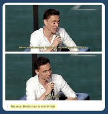 tom hiddleston needs to calm down with a cup of tee while reading