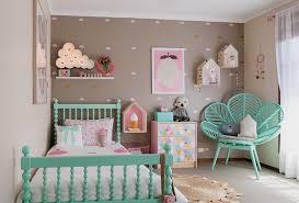 chambre fille vert chambre colorée pour fille