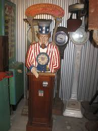 uncle sam personality tester arcade machine gameroom show