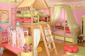 Toddler Bedroom And Playroom Design Room Decorating Ideas - Kids room decorating ideas for girls