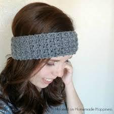 ear warmer headband easy textured ear warmer crochet pattern hooked on