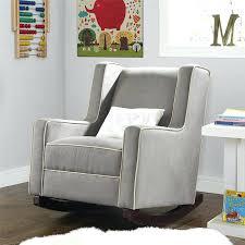 X Rocker Recliner Rocker Armchair Creative Modern Wood Rocking Chair With Blue Seat