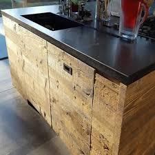 cuisine vieux bois decoration vieux bois de recuperation en belgique et europe