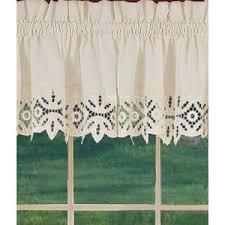 Battenburg Lace Curtains Panels Window Toppers Battenburg Lace Valance Country Curtains Polyvore