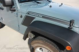 jeep decals 2007 2017 jeep wrangler rundown hood to fender vinyl decal graphic