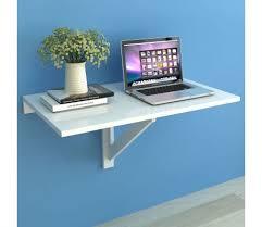 si e de mural rabattable acheter vidaxl table murale rabattable 100 x 60 cm blanc pas cher