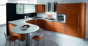 Contemporary Modern Cherry Wood Kitchen Cabinets Best  On - Modern wood kitchen cabinets