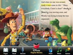 toy story animated storybook