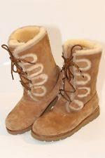 s ugg australia emilie boots ugg australia s lace up us size 9 ebay