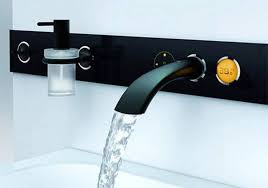 modular bathroom faucets with glass bowl sink about bathroom