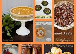 8 unique thanksgiving dessert recipes recipeideas