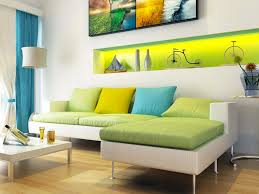 living room amazing modern interior living room with green sofa