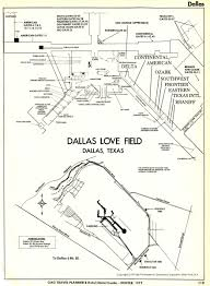 Dallas Love Field Map Dal72