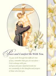 spiritual greeting cards the franciscan friars