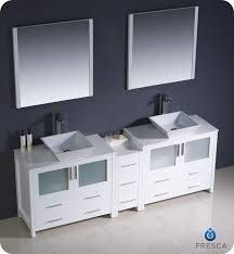 Fresca Torino FVNWHVSL Modern Double Sink Bathroom - Bathroom vaniy 2