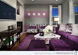 purple livingroom cool and opulent gray and purple living room all dining room
