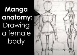 Human Figure Anatomy Manga Anatomy How To Draw Female Body Full Lesson Youtube