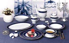 57 midnight bone china dinnerware set service for 8