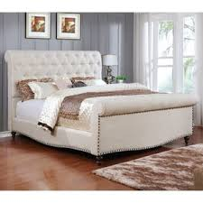 King Upholstered Sleigh Bed Sleigh Beds Birch Lane