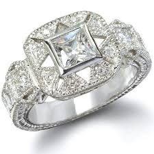 cinderella engagement ring the cinderella sterling silver cz antique ring jewelry box