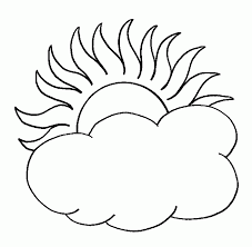 coloring page of a sun coloring home