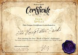 image certificate jpeg harry potter wiki fandom powered wikia