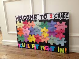 second grade welcome back to bulletin board ideas bing