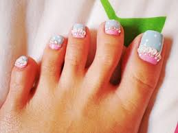 Toe And Nail Designs Pedicures Just Got Better With These 50 Toe Nail Designs