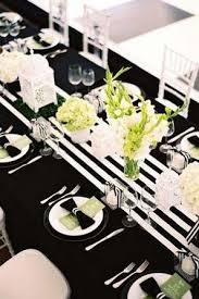black and white table runners cheap 9 trending table runners for weddings mywedding