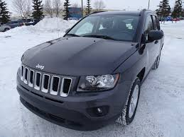 jeep compass sport white used 2016 jeep compass 4wd sport accident free a c edmonton ab