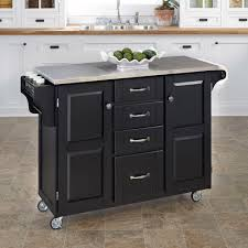 Home Styles Orleans Kitchen Island by Home Styles Baton Rouge Black Kitchen Utility Table 5059 9411