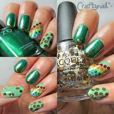 rainbow nail art craftynail