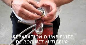 fuite mitigeur cuisine guide plomberie réparation de fuite mitigeur