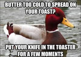 Toaster Meme The Best Of The Malicious Advice Mallard Meme