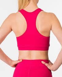 light pink sports bra organic cotton sports bra adha virtual pink b light